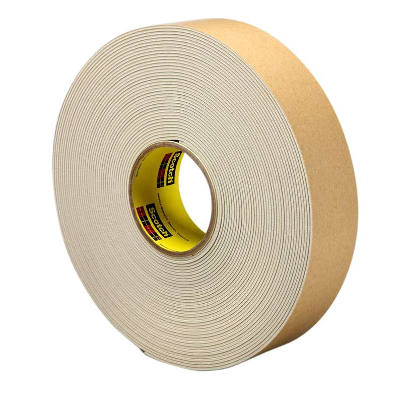 3M™ Impact Stripping Tape 528 Tan, 2 in x 20 yd 85.0 mil, 6 per case