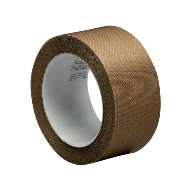 3M™ PTFE Glass Cloth Tape 5451 Brown, 1 in x 36 yd 5.3 mil, 9 per case Boxed