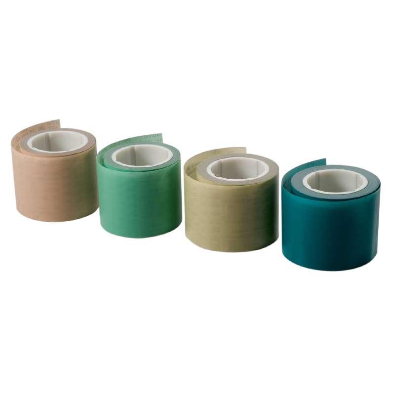 3M™ 675L Microfinishing Belt, 2 in x 50 in, Diamond, 45 Micron, Gray/Yellow