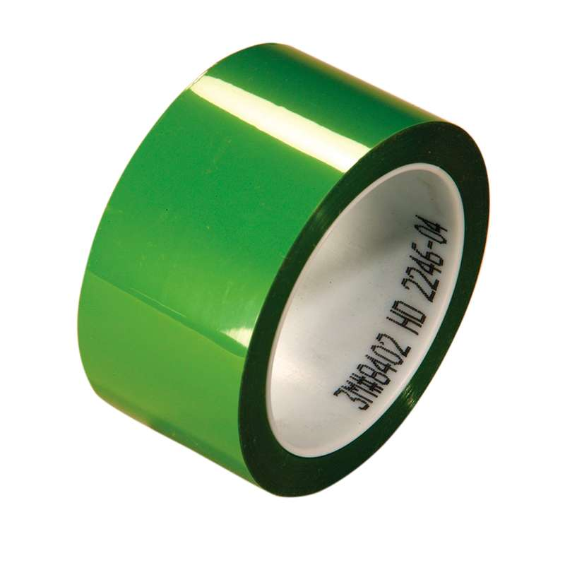 3M™ Polyester Tape 8402 Green, 1 in x 72 yd, 36 per case