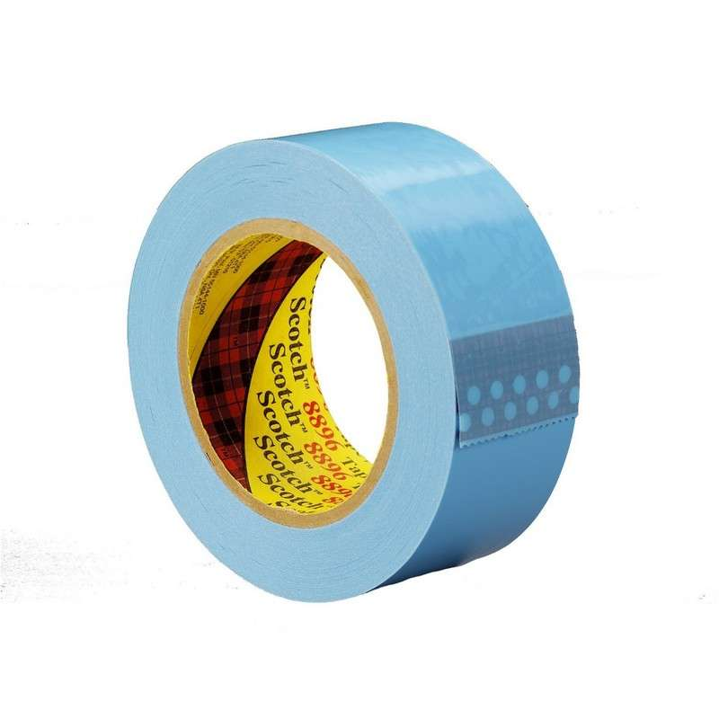 3M™ Strapping Tape 8896 Blue, 12 mm x 55 m, 72 rolls per case