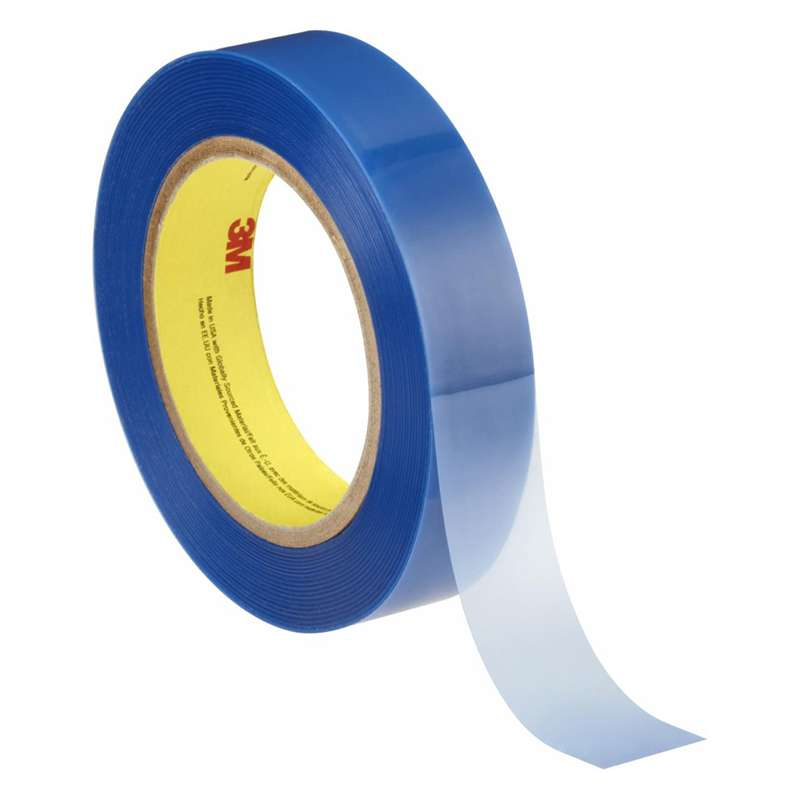 3M™ Polyester Tape 8901 Blue, 3/4 in x 72 yd, 48 per case