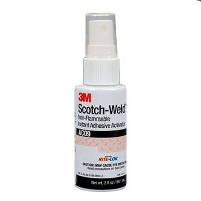 Scotch-Weld™ Non-Flammable Instant Adhesive Activator, 1.75 oz. Bottle