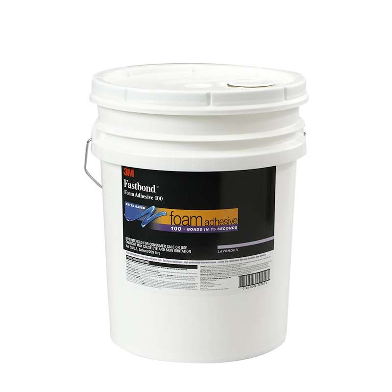 3M™ Fastbond™ Foam Adhesive 100NF, Lavender, 270 Gallon Returnable Poly Tote with Cage
