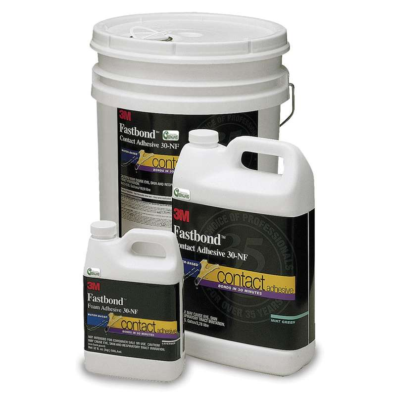 3M™ Fastbond™ Pressure Sensitive Adhesive 4224NF, Blue, 55 Gallon Open Head Lined Drum (52 Gallon Net)
