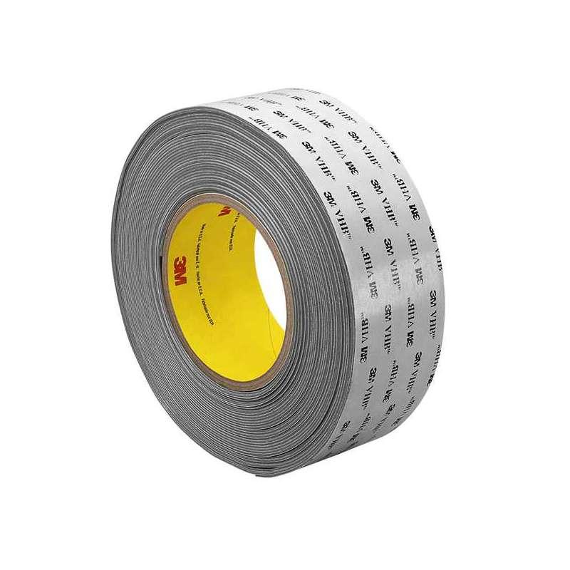 """3M™ VHB™ RP62F Gray Foam Tape, 1"""" x 36 yd x 62 mil, 9 rolls per case  Bulk"""