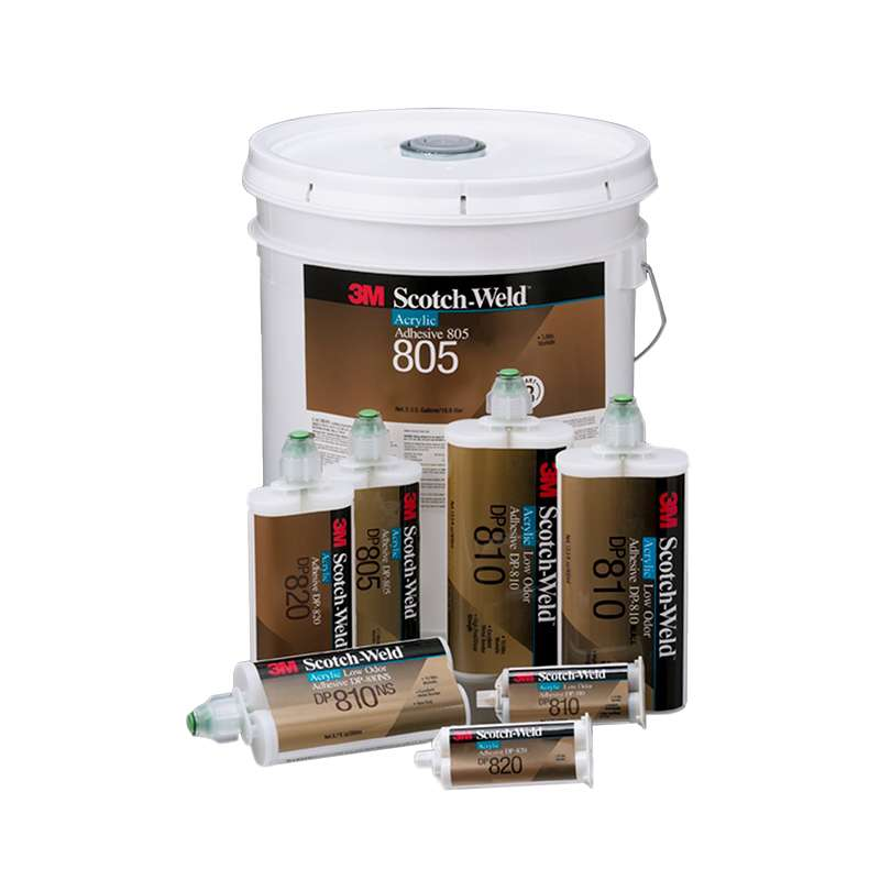 3M™ Scotch-Weld™ Structural Plastic Adhesive DP8010 Blue, 45 mL, 12 per case