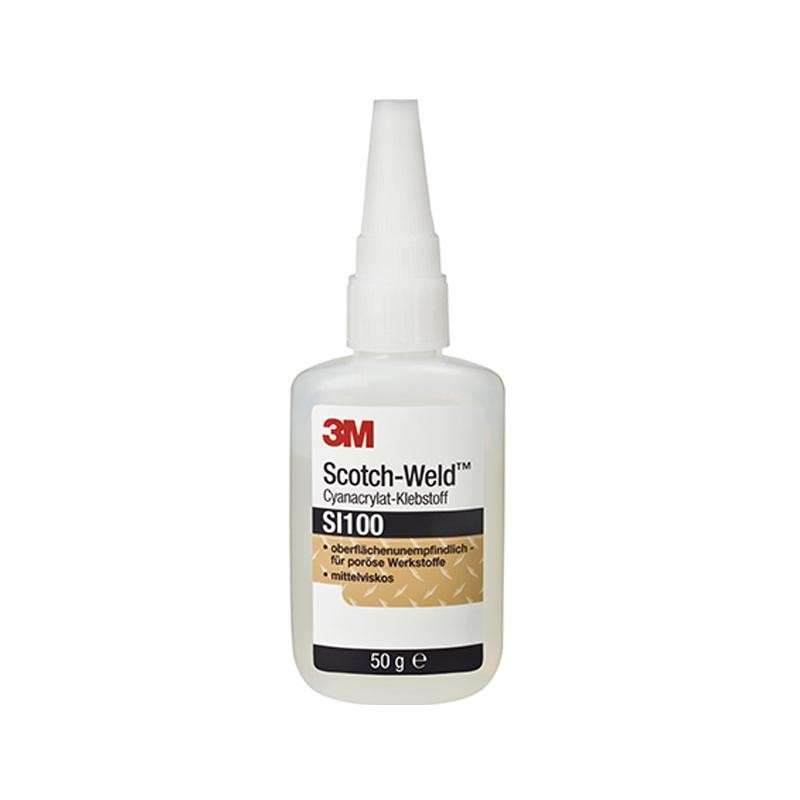Scotch-Weld™ Clear/Light Amber Instant Adhesive Surface Activator, 2 oz. Bottle