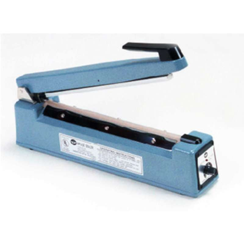 "Hand Operated 2mm Impulse Heat Sealer for 16"" Wide Bags and Tubing"
