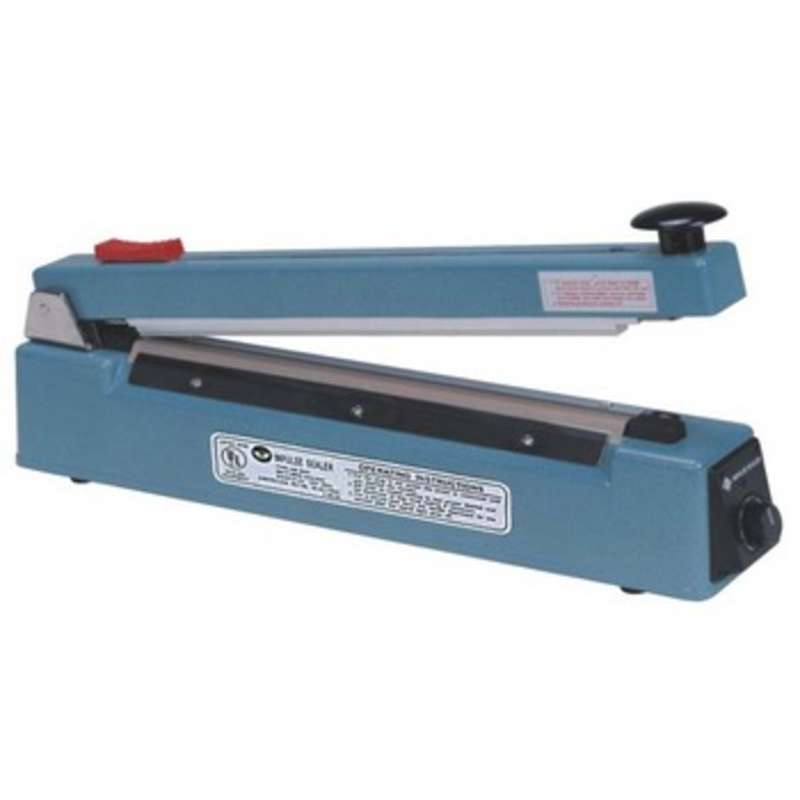 "Hand Operated 2mm Impulse Heat Sealer for 20"" Wide Bags and Tubing"