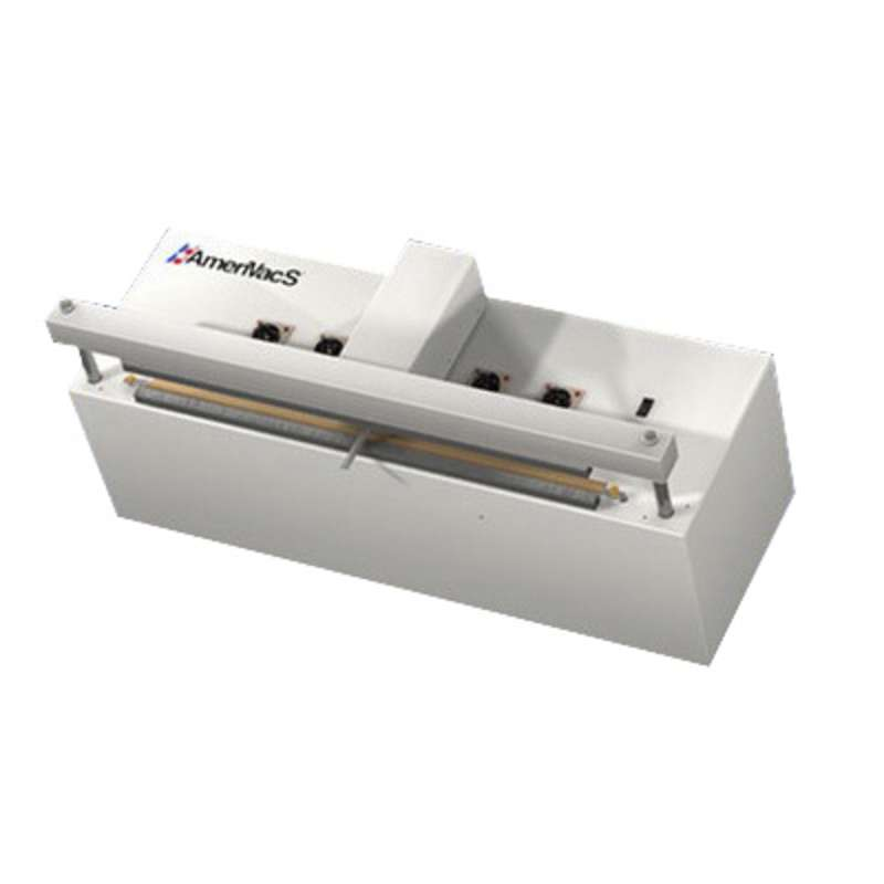 """Self Contained Retractable Nozzle Vacuum Sealer, 30"""" with Air Compressor"""