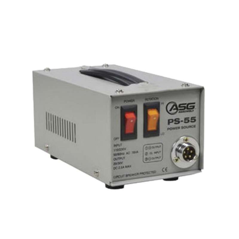 Series PS-55 Tool Power Supply, Current Rating 2.5