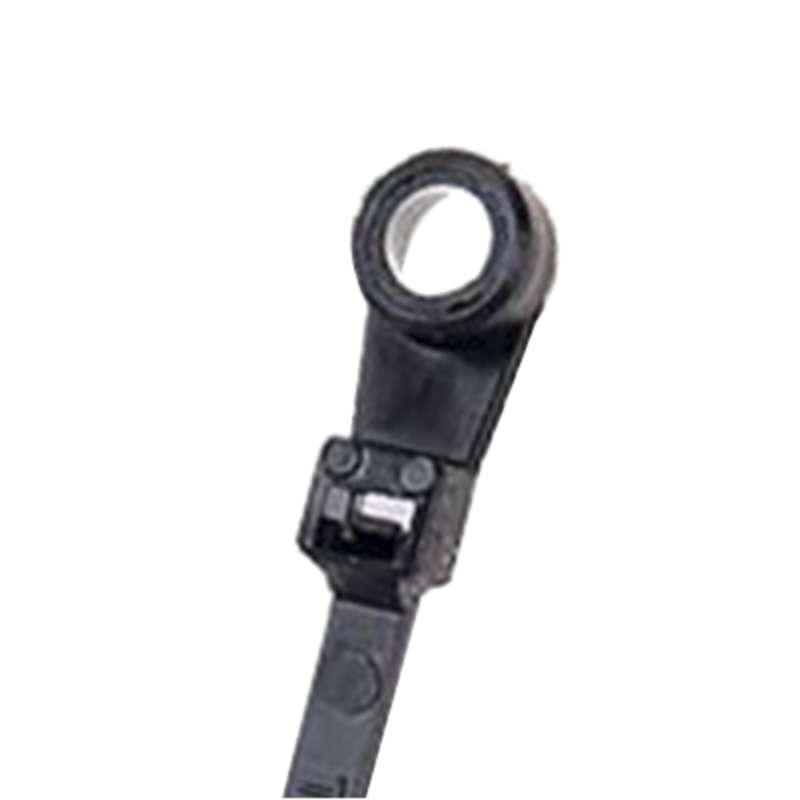 422f37ee5eb5 Specialty Cable Ties, Screw Mount Ties for #10 Screws, Black 7.5in ...