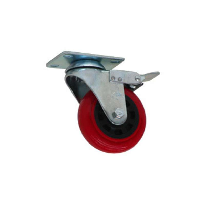 "Locking Urethane Casters for All-Spec Benches, 4"" Diameter, 4 per Set"