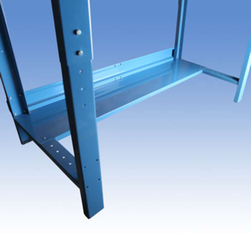 "Steel Bottom Shelf, 12 x 68"""