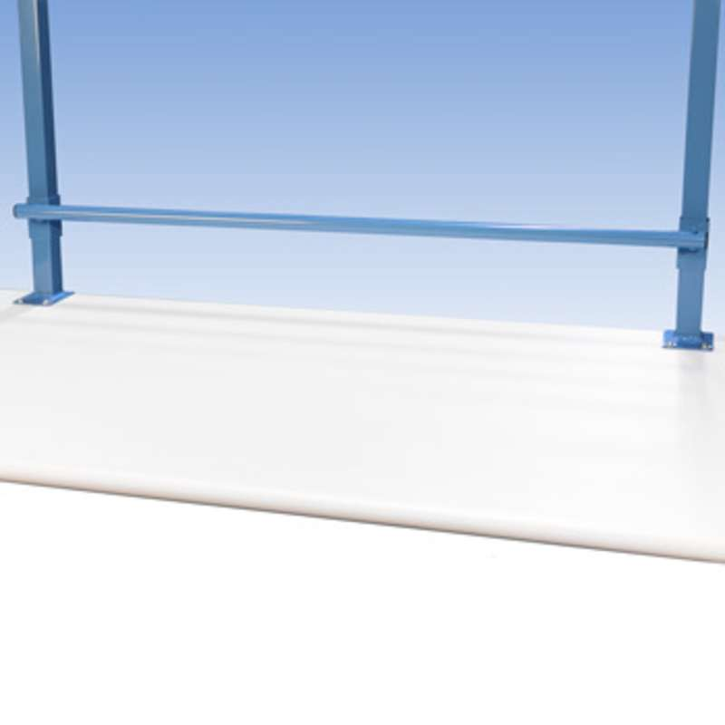 "Bubble Wrap and Label Roll Holder for All-Spec 180 Series 48"" and 96"" Benches"