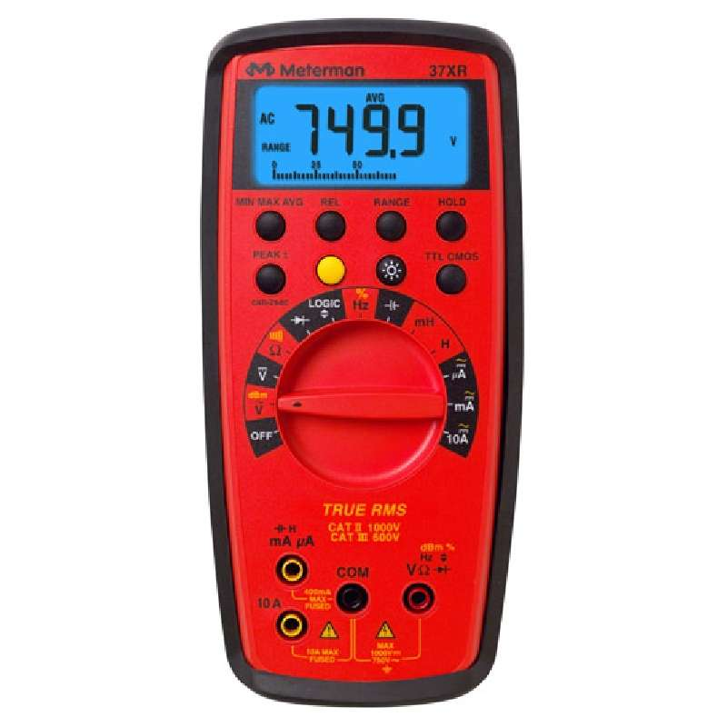 True RMS Digital Multimeter with Component Logic Test