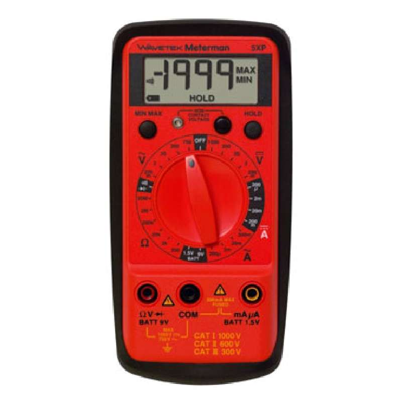 Full Purpose Compact Digital Multimeter with Non-Contact Voltage Detection