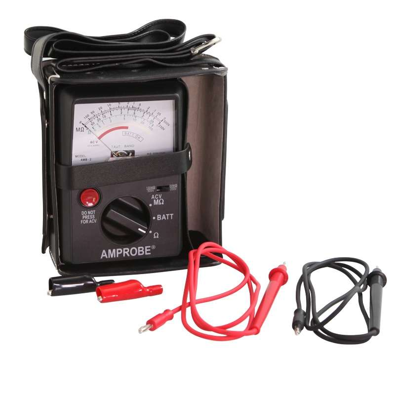 Insulation Resistance Tester with Carrying Case