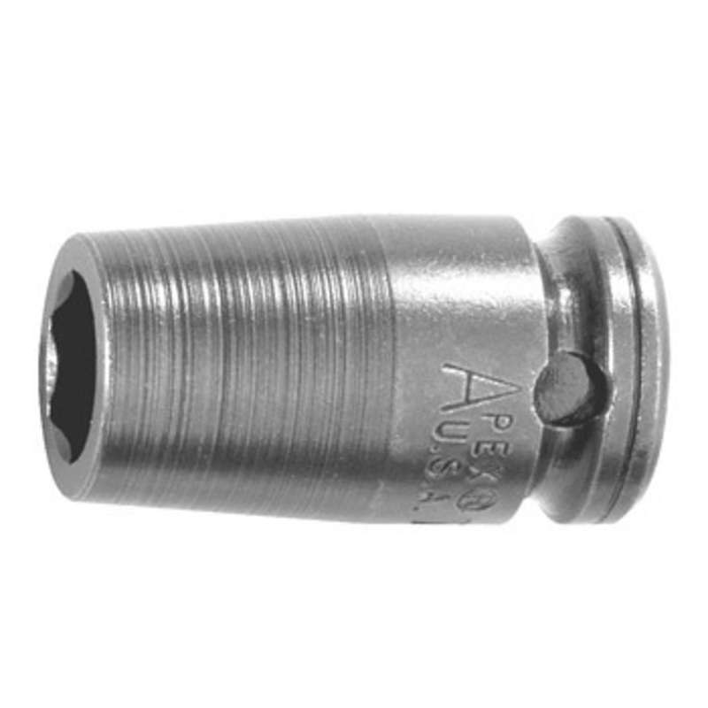 """6 Point Metric Socket for 3/8"""" Square Drive, 9mm x 1-1/4"""" Long"""