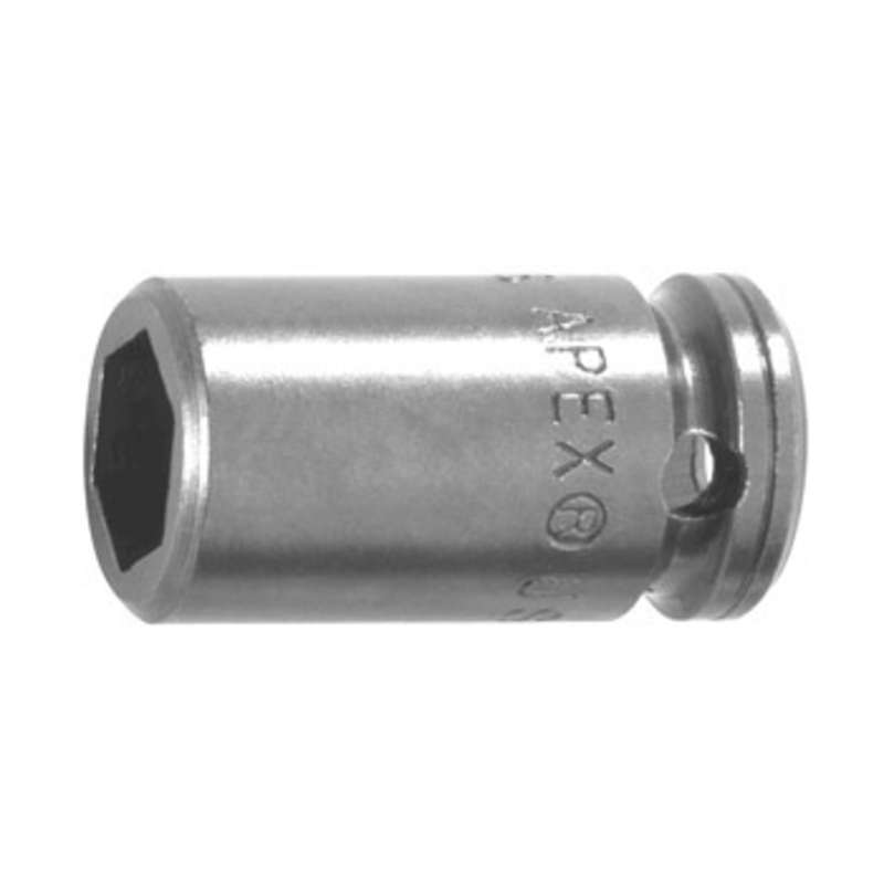 """6 Point Metric Socket for 1/2"""" Square Drive, 12mm x 1-1/2"""" Long"""