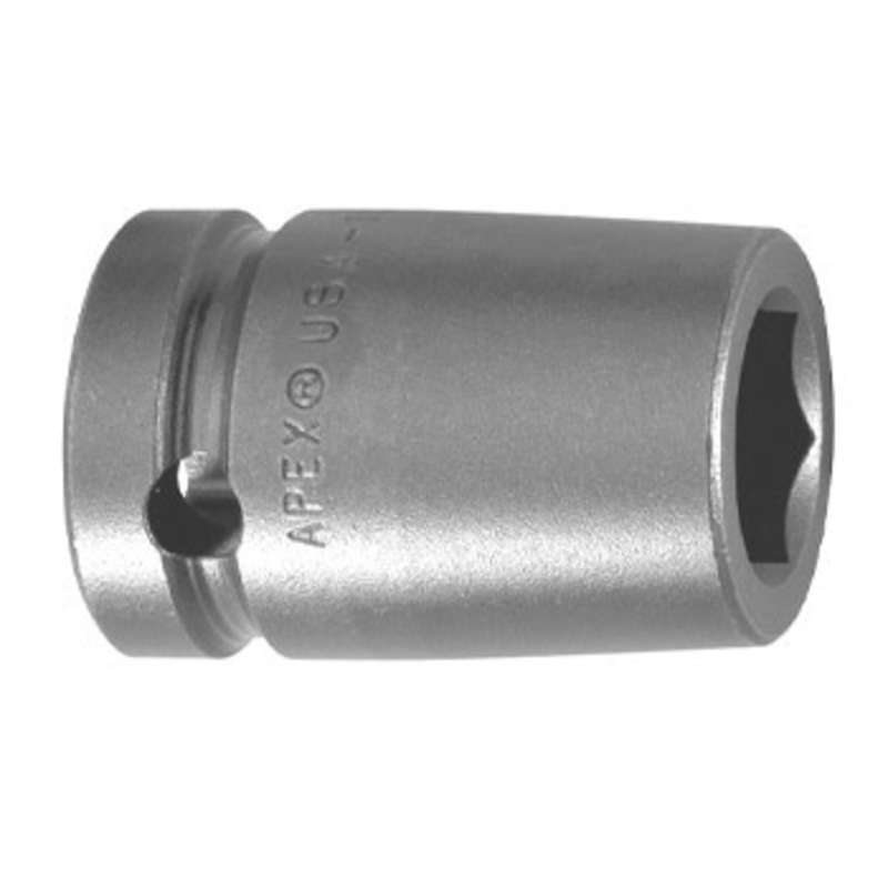"6 Point Magnetic Metric Socket for 1/2"" Square Drive, 10mm x 1-1/2"" Long"