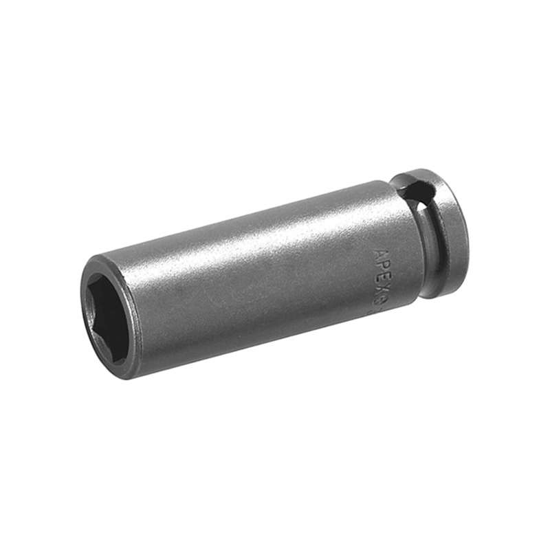 "Long 6 Point Magnetic Bolt Clearance Metric Socket for 1/4"" Square Drive, 13mm x 1-3/4"" Long"
