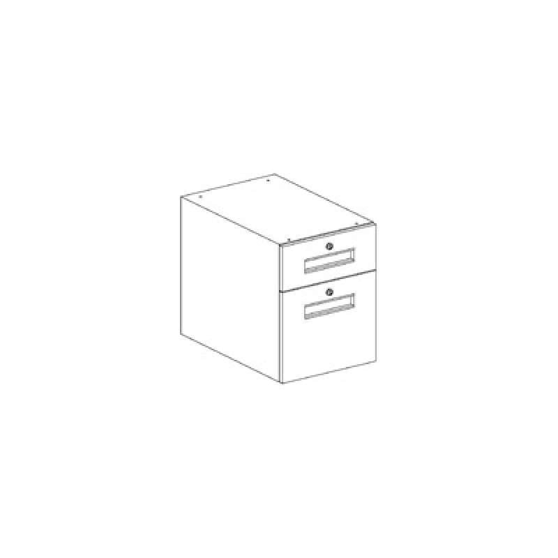 "Drawer Assembly Box/File 23x15x19-1/2"" for 30"" Workstation Depth"