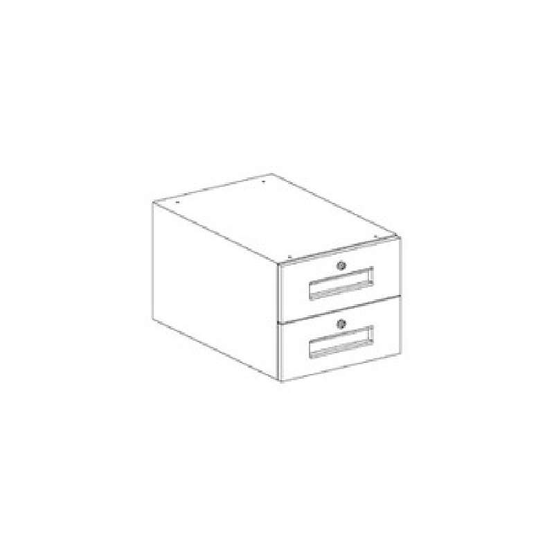"Drawer Assembly includes 2 drawers 23x15x13"" for 30"" Workstation Depth"