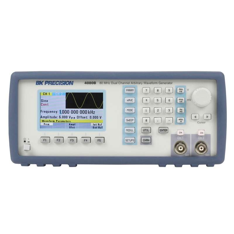 Dual Channell Arbitrary/Function Waveform Generator , Up to 80 MHz