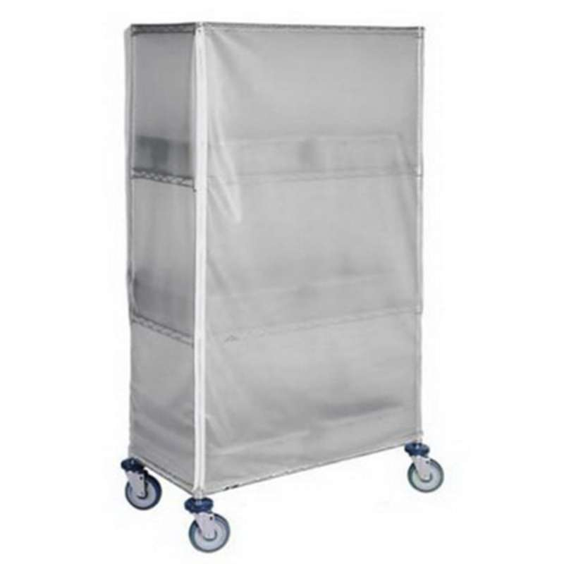 Static Dissipative Clear Vinyl Cart Covers