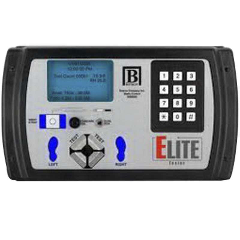 ELITE Basic Wrist Strap and Footwear Tester with Keypad, Footplate, and Test Stand