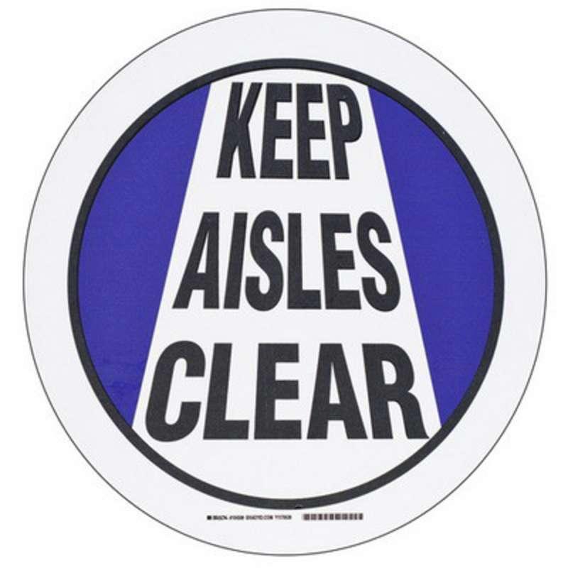 Floor Safety Usa : Brdy floor safey sign b quot diam