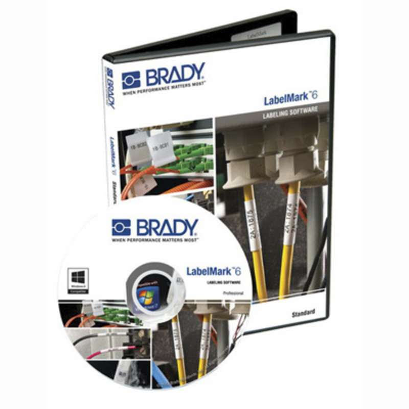 Brady LM6PROE - Label Mark Software