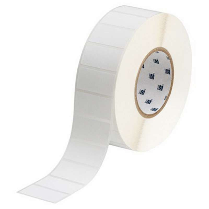 "3"" Core Series WorkHorse Polyester Thermal Transfer Label, B-488, White, 0.25 x 0.9 in, 10000 Labels per Roll"