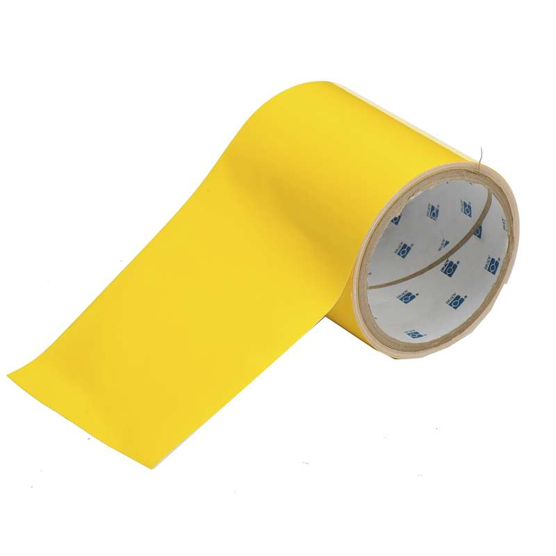 4 IN x 100 FT B514 YELLOW FLOOR TAPE