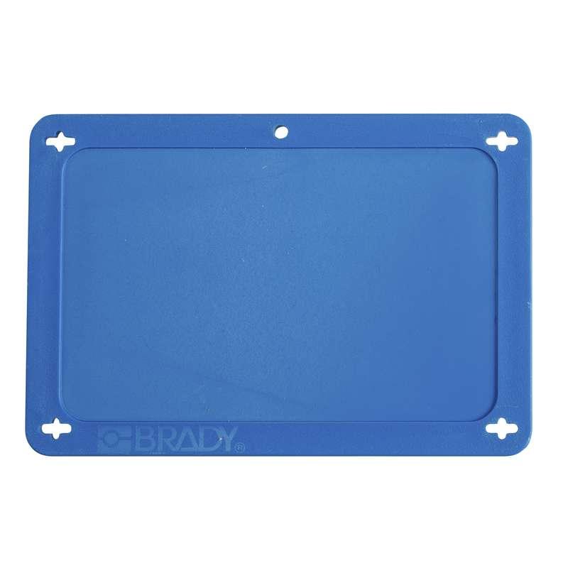 BLANK BLUE UTILITY TAG 2.5X4