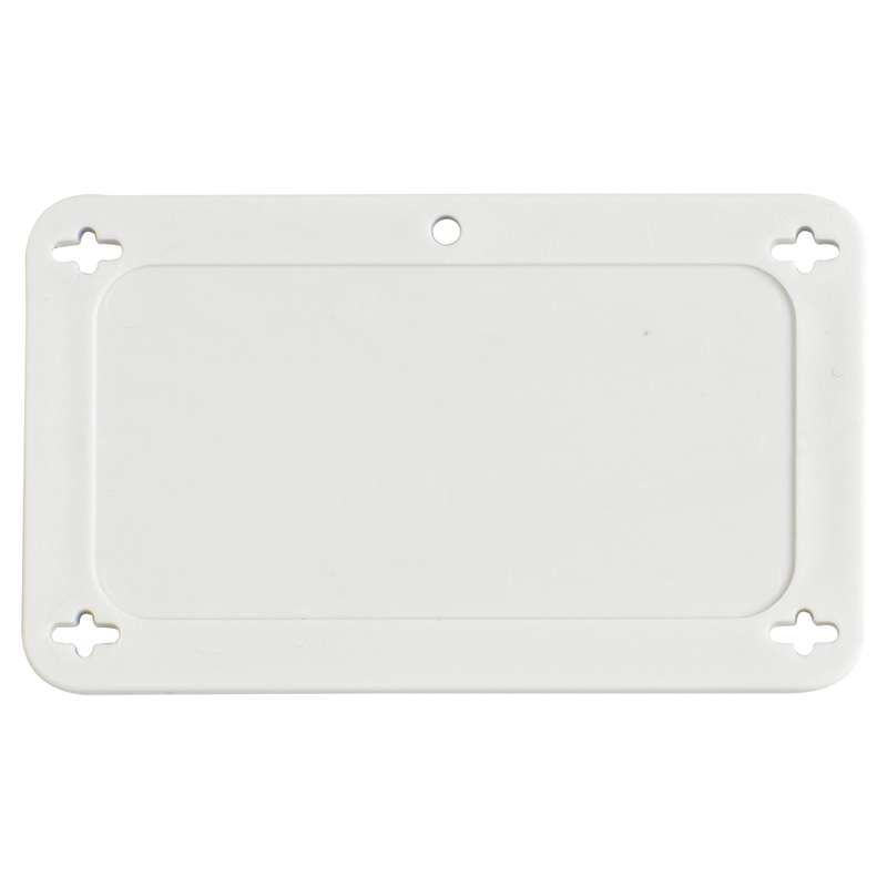 POLYPROP.TAG,WHITE, 1.5 IN x 3.0 IN