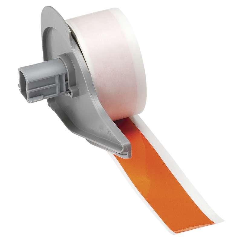 "BMP®71 Series Vinyl Film Indoor/Outdoor Tape with Permanent Adhesive, Orange, 1"" x 50', 1 Each"