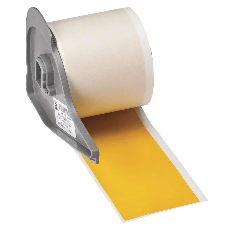 """BMP™71 Series Vinyl Film Indoor/Outdoor Tape, Yellow, 2"""" x 50'"""
