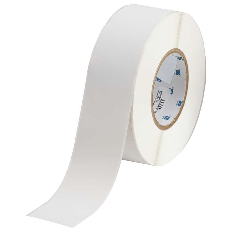 """3"""" Core Series Polyimide Flame Retardant Wire Straps, White, B-472, 2 in x 300 ft per Roll"""