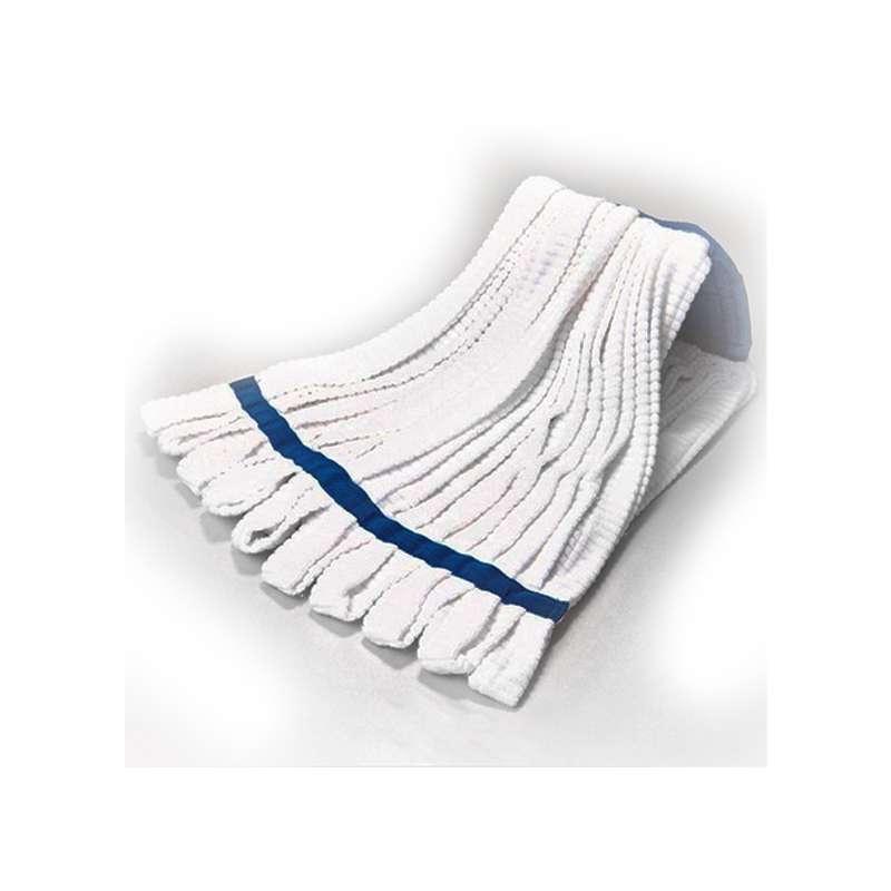 Choice™ Cleanroom Micro Fiber Tubular Knit Mophead, Launderable