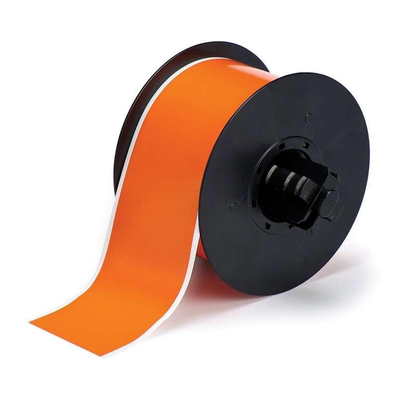 "BBP™31 Hi-Performance Polyester Tape, 2.25"" x 100', 1 Roll, Orange Gloss"