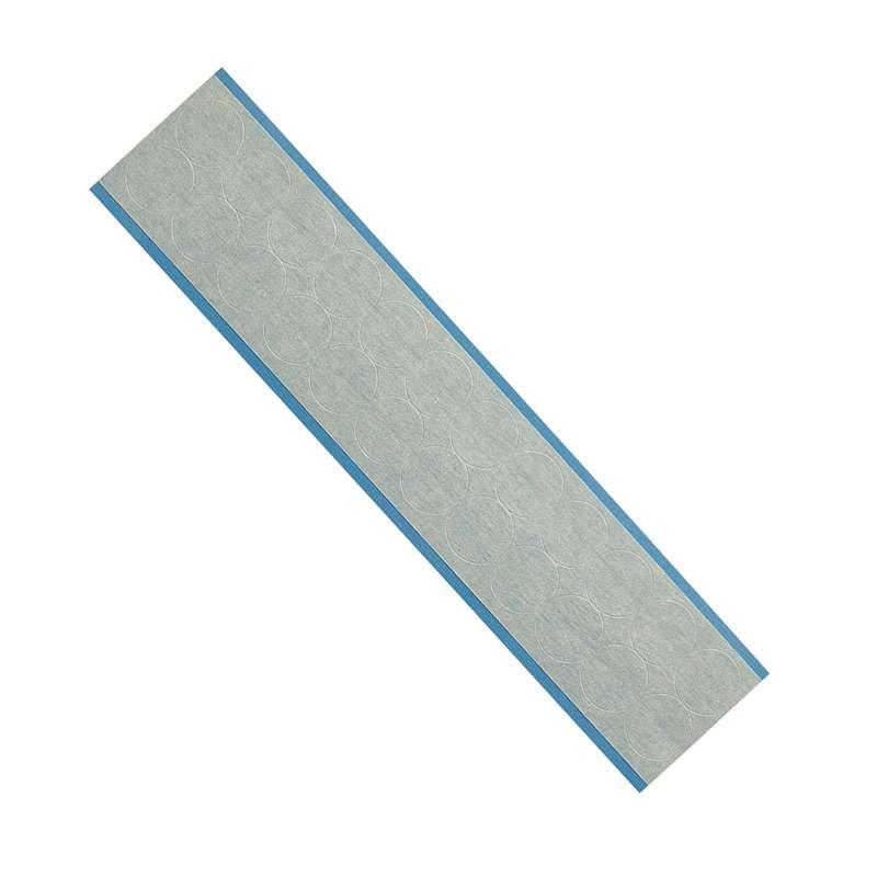 Circular Masking Tape Removable Labels, B-540, Brown, 0.75 in Diameter, 24 Labels per Card