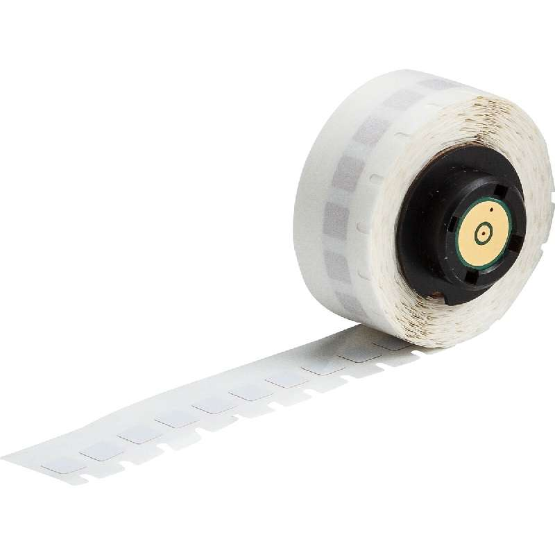 """LABELS WIRE B-727 .25 x.25"""";750/ROLL WHITE"""