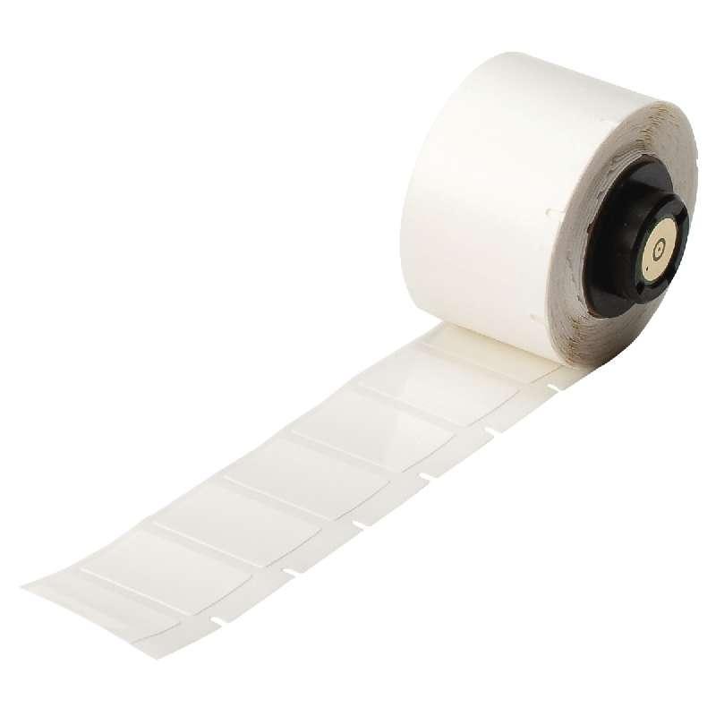 "TLS 2200™/TLS PC Link® Repositionable Vinyl Cloth Labels, 3/4"" x 1"", Semi-Gloss White, 250 per Roll"