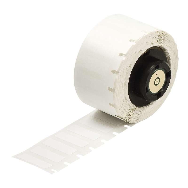 "TLS 2200™/TLS PC Link® Nylon Cloth Labels, 1"" x 1"", Matte White, 250 per Roll"