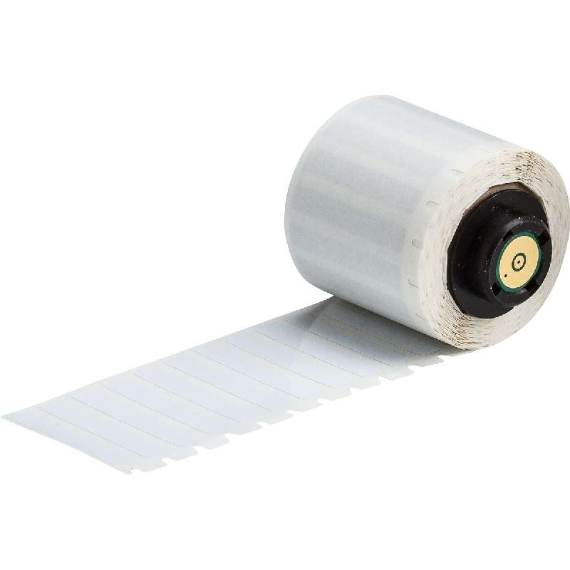 "TLS 2200®/TLS PC Link™, White Polyimide Labels, 1.5"" x 0.25"""