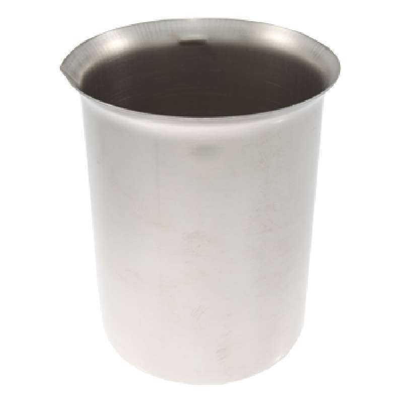 Stainless Steel Beaker for Ultrasonic Cleaners, 600mL