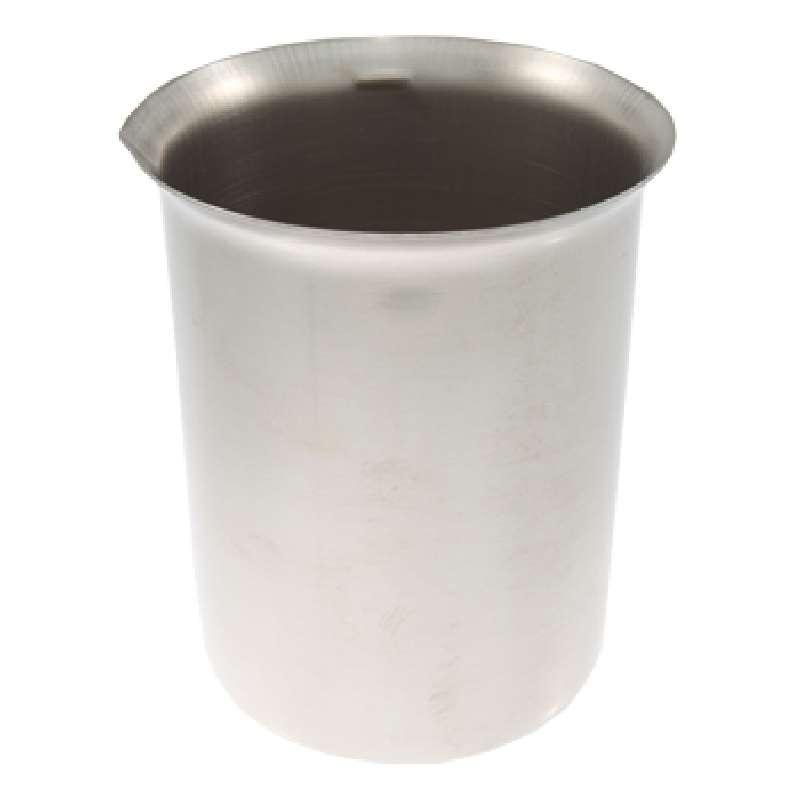 Stainless Steel Beaker for Ultrasonic Cleaners, 600mL